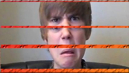 justin beiber angry