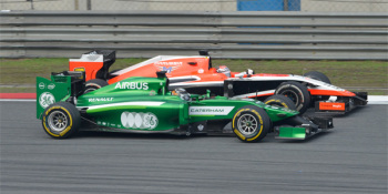 marussia and caterham
