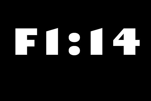 f1 14 cars